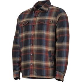 Marmot Ridgefield LS Shirt Herre black
